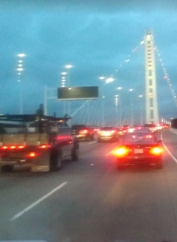 Brand new Bay Bridge: Links Oakland to SF